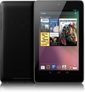 popular tablet computer google Nexus 7