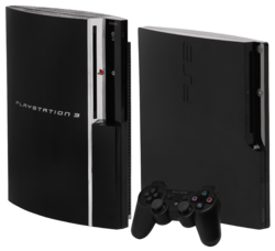 Popular video palyer device : Sony PS 3---Play station 3