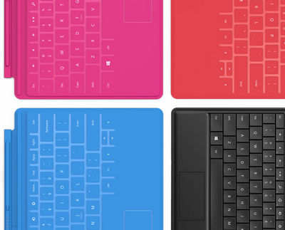 covers of Microsoft Surface